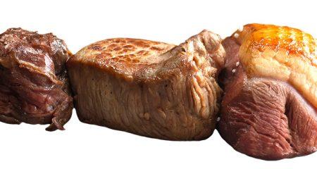 Brochette 3 viande